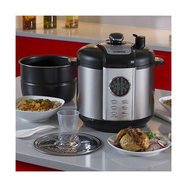 Tower 6 Litre Electric Pressure Cooker