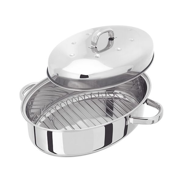 Judge Stainless Steel Self Basting Induction Roaster