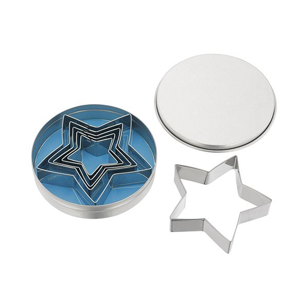 Judge Traditional 5 Point Star Cutters (Set Of Six)