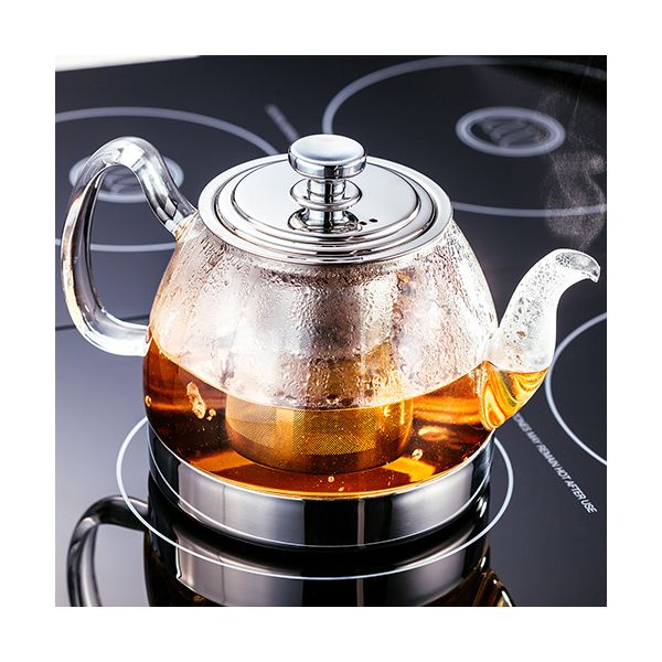 Judge Hob Top Induction 900ml Glass Teapot