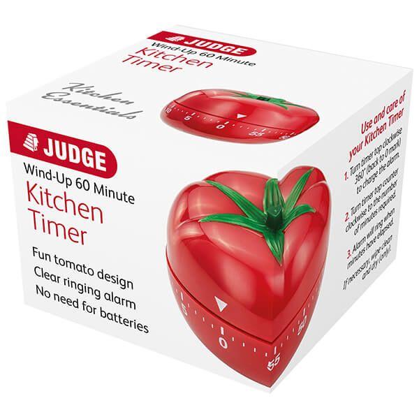 Judge Tomato Kitchen Timer