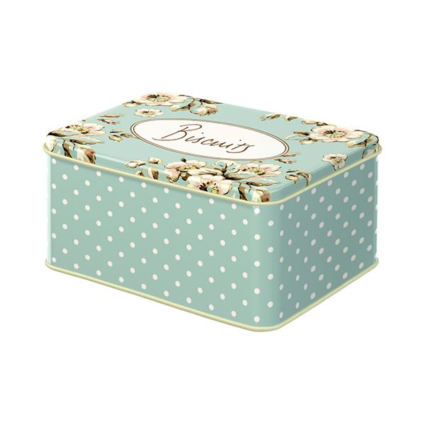 Katie Alice Cottage Flower Set Of 2 Rectangular Cake Tins