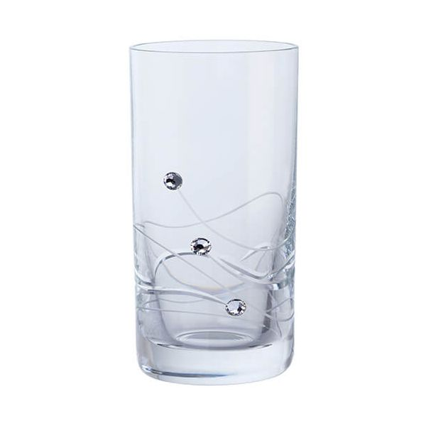 Dartington Glitz Swarovski Elements Set Of 2 Shot Glasses