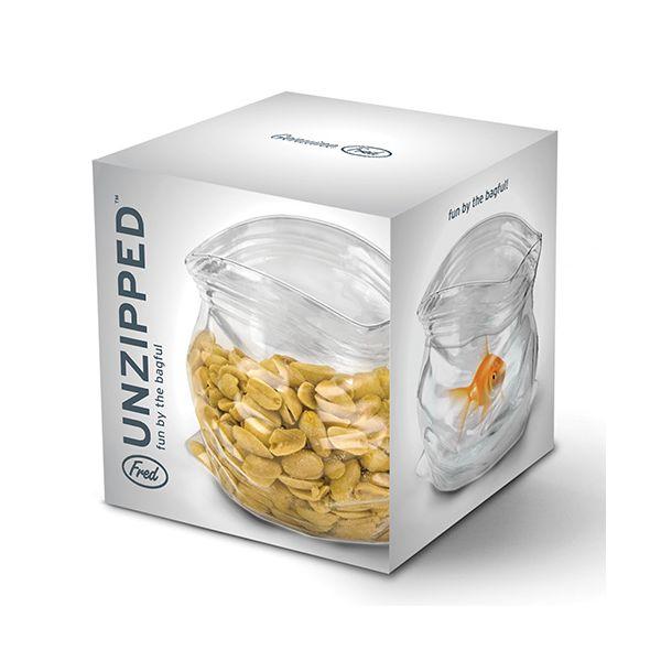 Fred Unzipped Treats Serving Jar