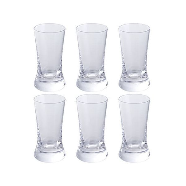 Dartington Wine & Bar Set Of 6 Shot Glasses