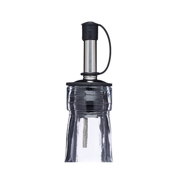 World of Flavours Italian Ridged Glass Oil Drizzler