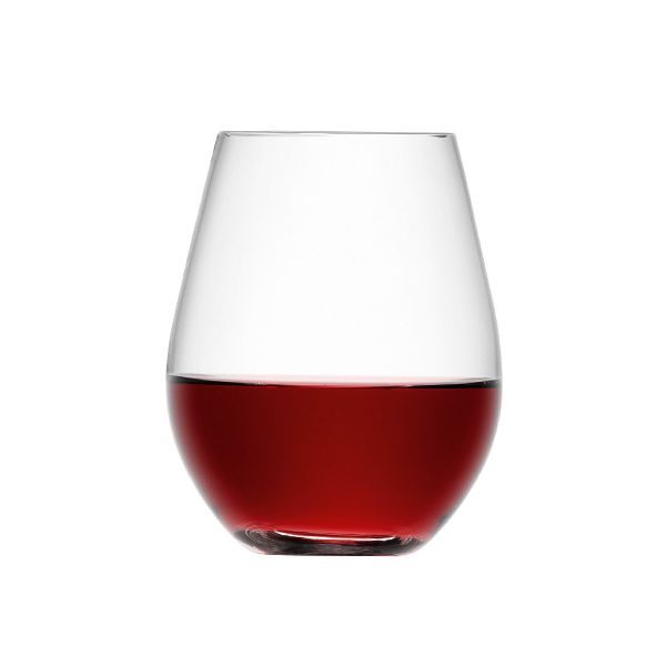 LSA Wine Stemless Red Wine Glass Set Of Four