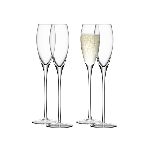 LSA Wine Champagne Flute Set Of Four