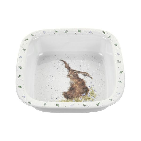 Wrendale Designs Square Dish Hare