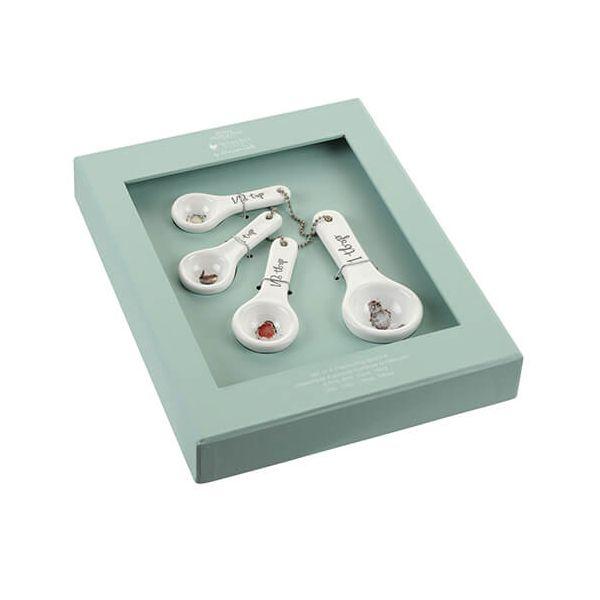 Wrendale Designs Measuring Spoons Birds, Set Of 4