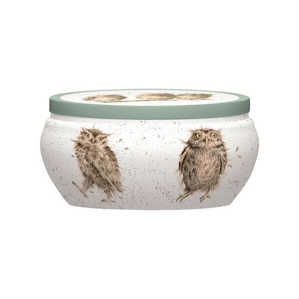 Wrendale Designs What A Hoot Boutique Candle Tin