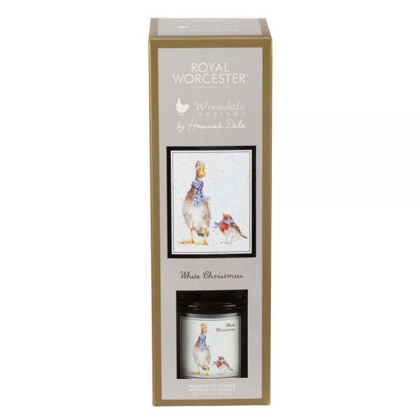 Wrendale Designs 200ml Diffuser White Christmas