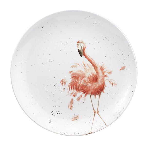Wrendale Designs Melamine Flamingo Round Platter