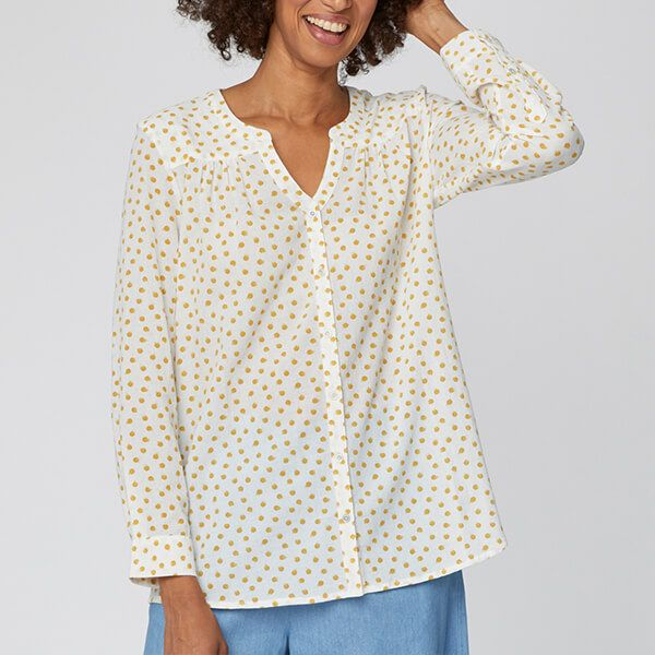 Thought White Sarita Shirt