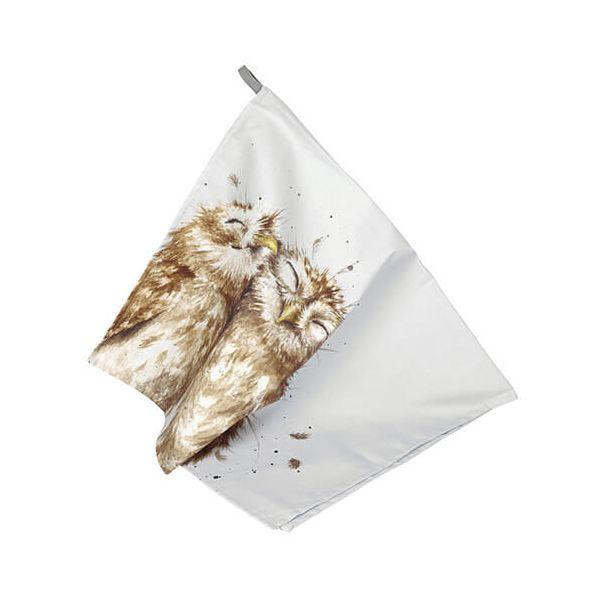 Wrendale Designs Tea Towel Owl Design