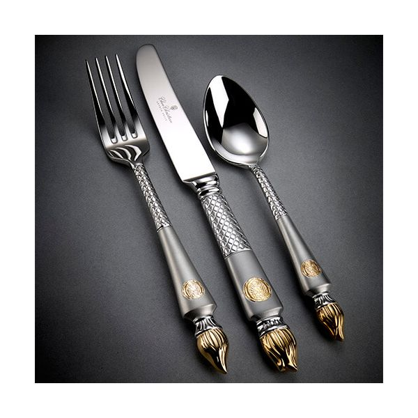 Clive Christian Empire Flame Dessert Spoon