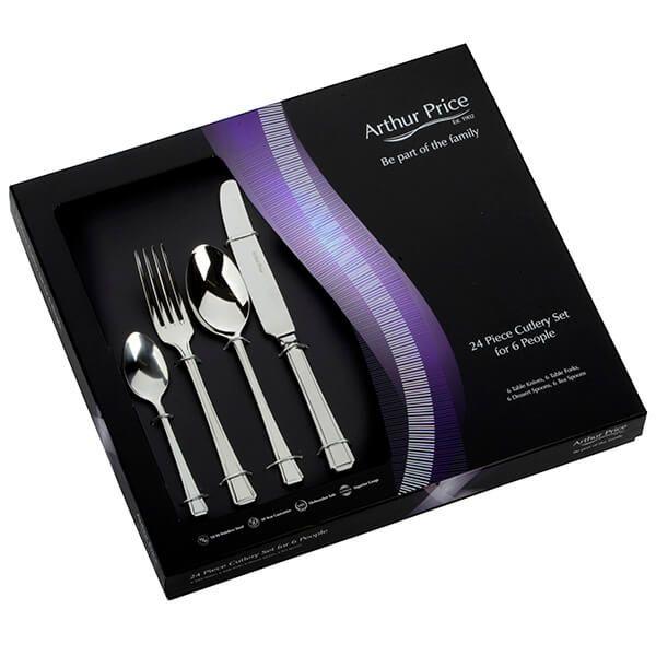 Arthur Price Classic Harley 24 Piece Cutlery Gift Box Set