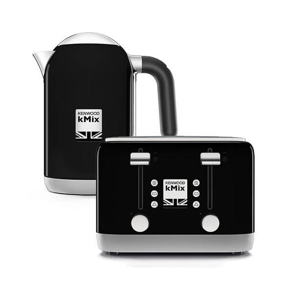 Kenwood kMix Kettle & Toaster Set Black