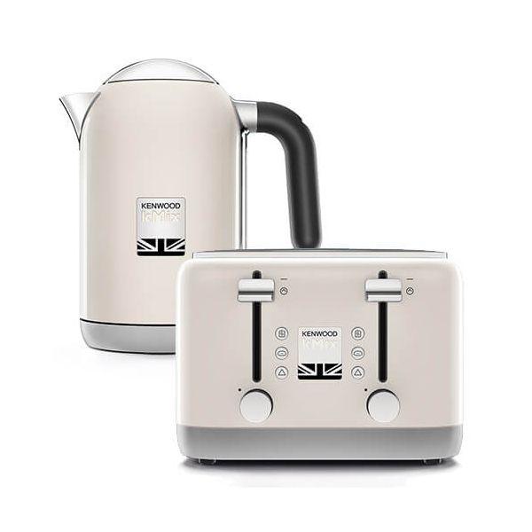 ed38debbe Kenwood kMix Kettle   Toaster Set Cream