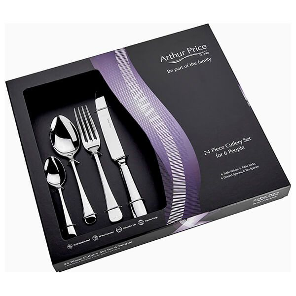 Arthur Price Classic Old English 24 Piece Cutlery Box Set