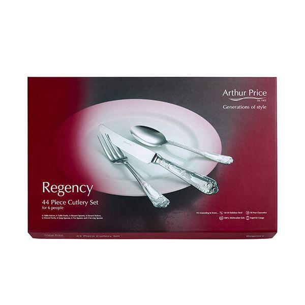 Arthur Price Classic Regency 44 Piece Cutlery Box Set