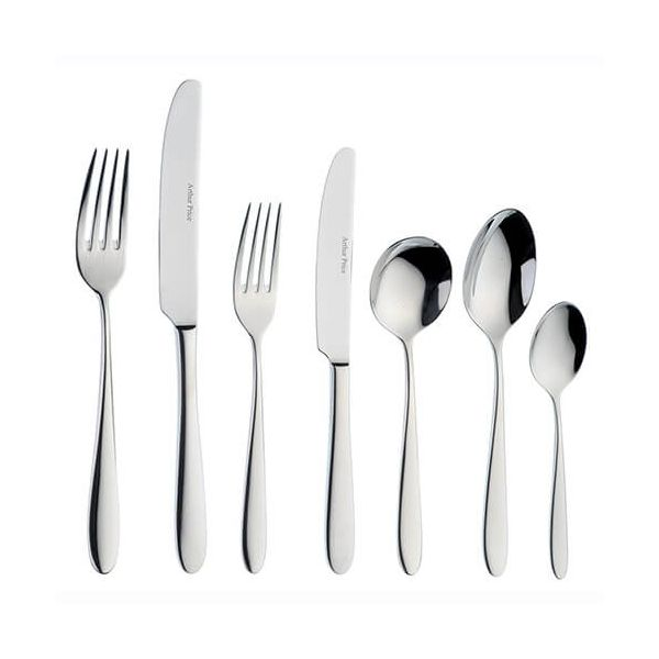 Arthur Price Contemporary Willow 76 Piece Cutlery Box Set