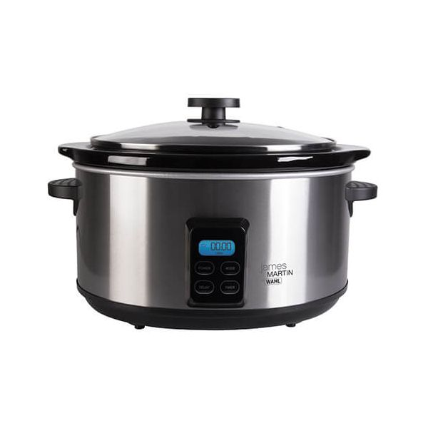 James Martin By Wahl 4.7L Digital Slow Cooker