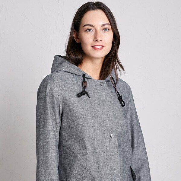 Seasalt Sail Maker Jacket Treninnow Peppercorn