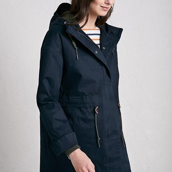 SeaSalt Polperro 3 Season Coat Fathom