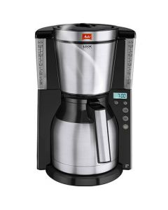 Melitta Look Therm Timer Black Filter Coffee Machine