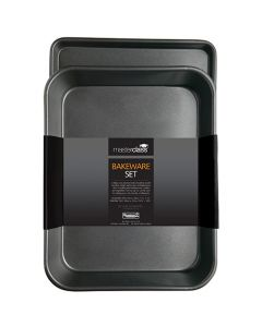 Master Class Non-Stick Roasting Pan & Oven Tray Twin Pack