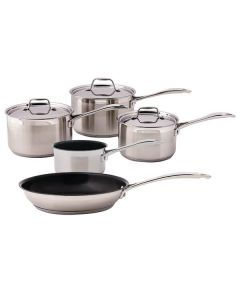 Stoven Professional Induction Stainless Steel 5 Piece Cookware Set