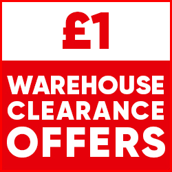 £1 Warehouse Clearance Offers