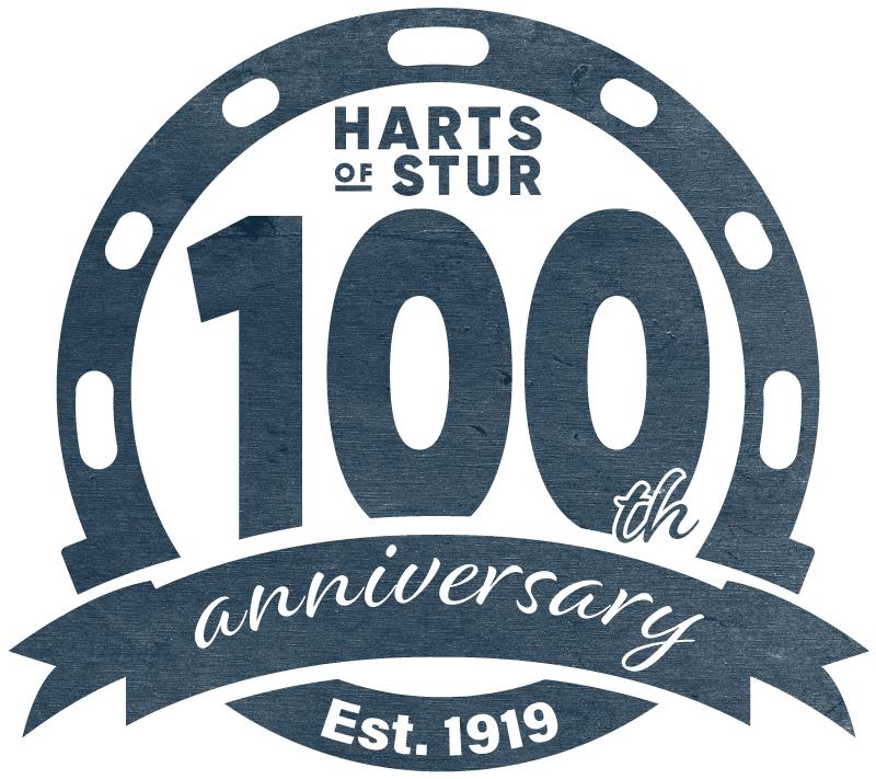 100th Anniversary Vintage Logo