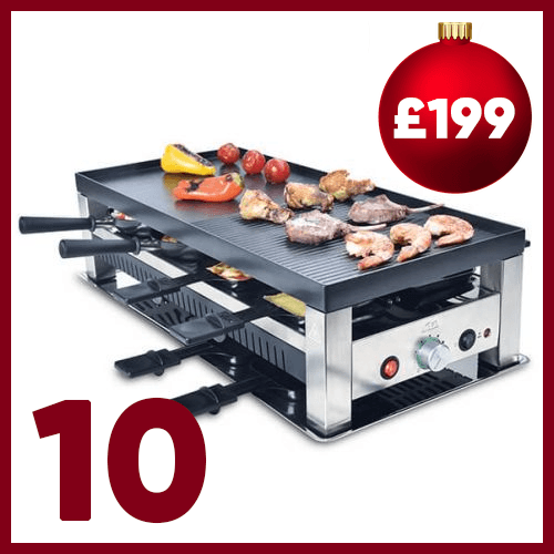 Tenth advent window - Solis 5-in-1 Table Grill