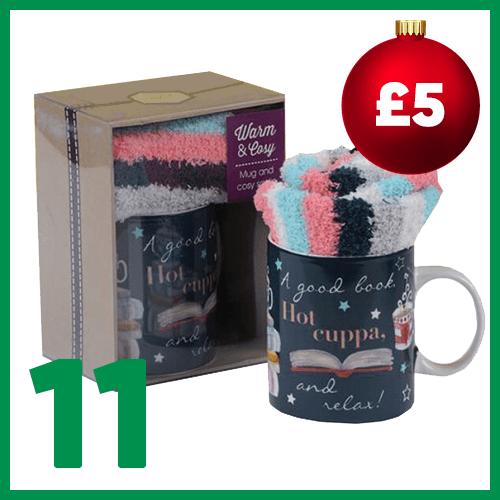 Eleventh advent window - Sock & Mug Gift Set