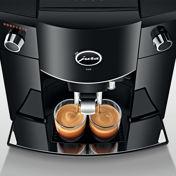 Jura coffee machines have programmable water volumes