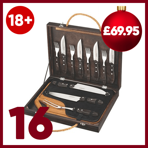 Sixteenth advent window - Tramontina Steak Knife, Fork & Carving Set