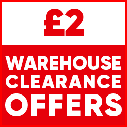 £2 Warehouse Clearance Offers