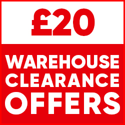 £20 Warehouse Clearance Offers