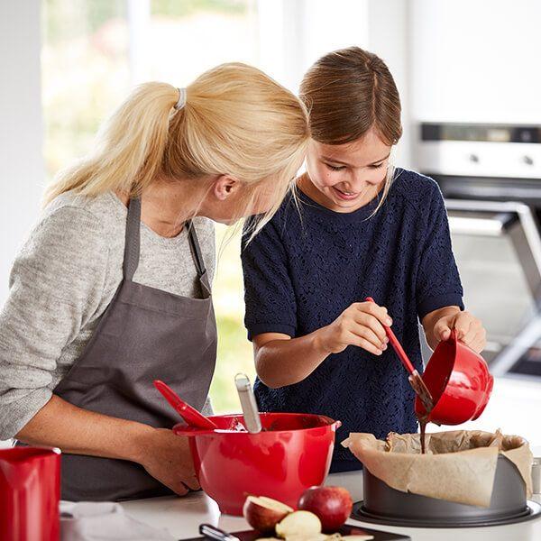 Rosti Margrethe Mixing Bowl Red Baking