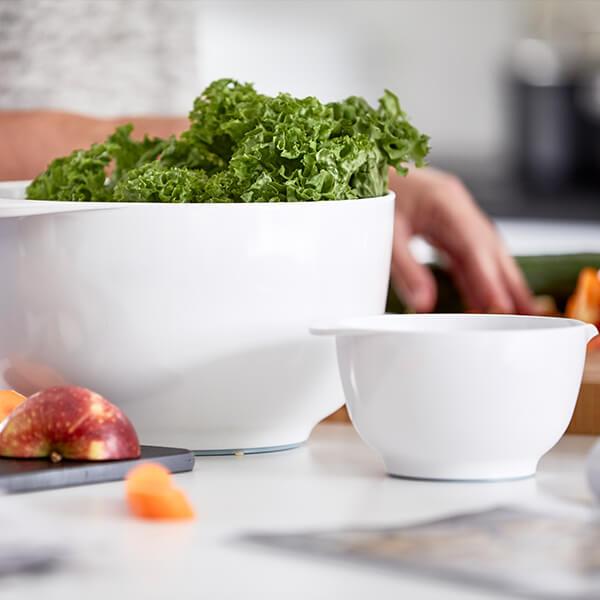 Rosti Margrethe Mixing Bowl White Food Prep