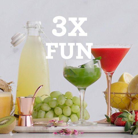 Bluicer - 3x Fun