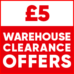£5 Warehouse Clearance Offers
