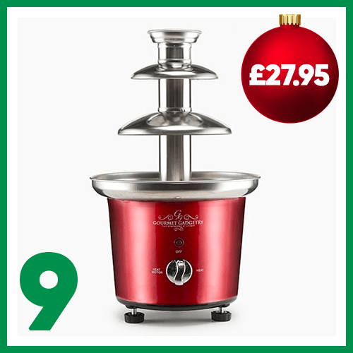 Ninth advent window - Gourmet Gadgetry Chocolate Fountain