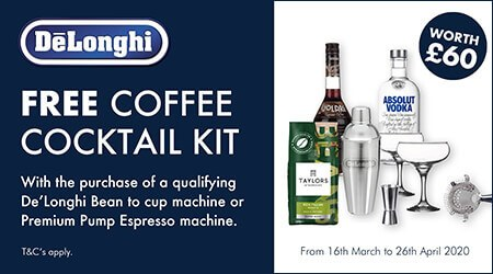 Delonghai Coffee Cocktail Promotion