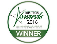 Blackmore Vale Business Awards Winner 2016