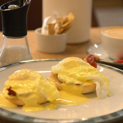 Breakfast at Harts Coffee Loft