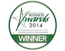 Blackmore Vale Business Awards Winner 2014