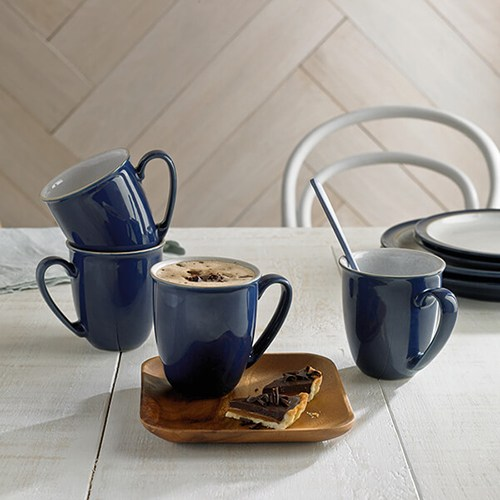 Denby Elements Dark Blue